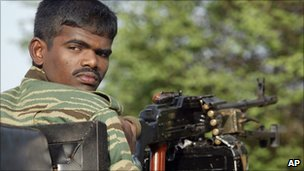 Tamil Tiger rebel (file photo)