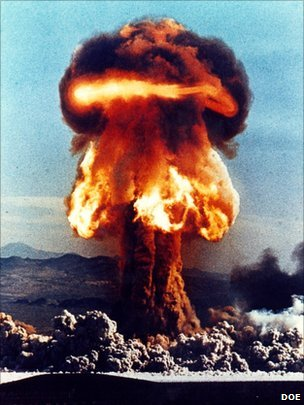 Atomic weapons test  DOE