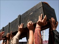 Iraqi coffin