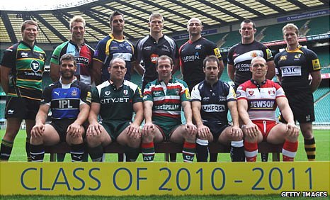 Aviva Premiership club captains
