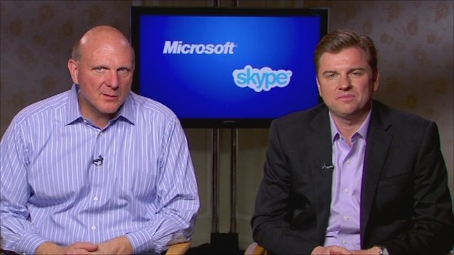 Steve Ballmer and Tony Bates