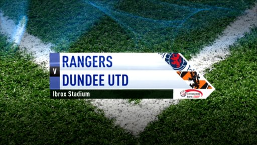 Highlights - Rangers 2-0 Dundee United