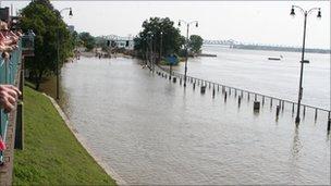 Memphis flooding. Photo: Pat Jorgensen