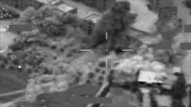 Nato bomb footage