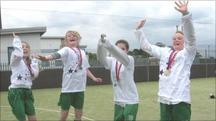 Edinburgh Airport Youth Games