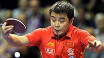 World number one Wang Hao