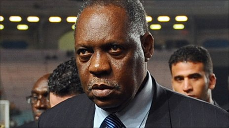 Confederation of African Football president Issa Hayatou