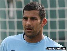 Aldershot Town goalkeeper Jamie Young