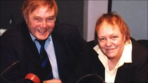 David Dunseith and Mo Mowlam