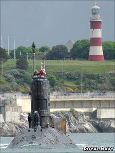 HMS Tireless. Pic: Royal Navy