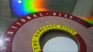 Domesday laserdisc