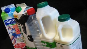 Alternative milk products