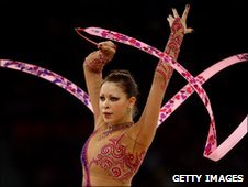 Welsh rhythmic gymnast Francesca Jones