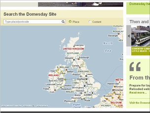 Domesday Reloaded website