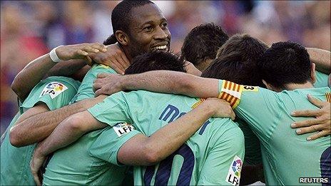 ليفانتي 1-1 برشلونة