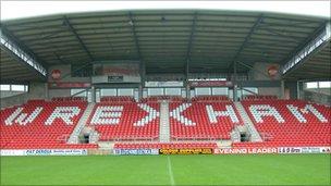 Wrexham FC Racecourse stadium