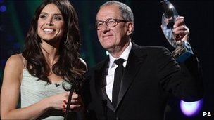 Christine Bleakley and Geoffrey Rush