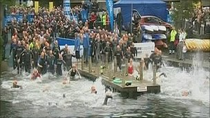 The 2009 Great North Swim