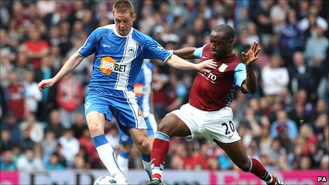 Wigan and West Ham are fighting to avoid relegation