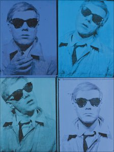 Andy Warhol's Self-Portrait, 1963-64