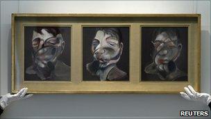 Francis Bacon's Three Studies for Self-Portrait