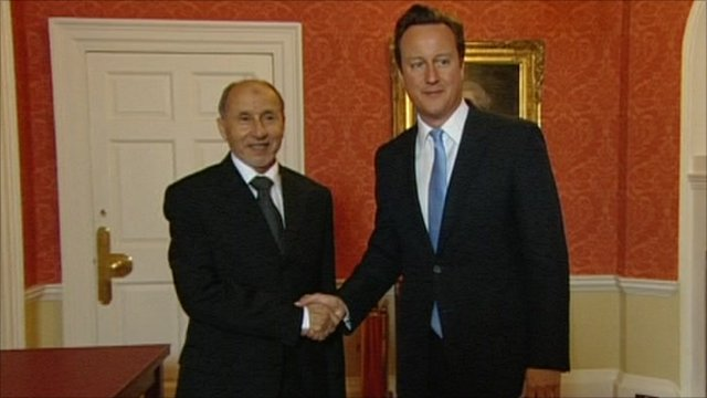 Abdul Jalil and David Cameron