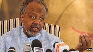 Djibouti President Ismael Omar Guelleh