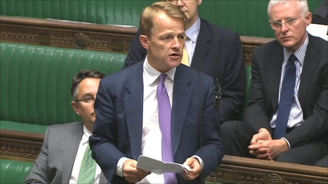 David Laws in House of Commons