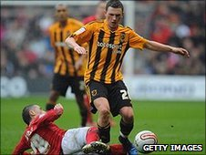 Hull midfielder Corry Evans