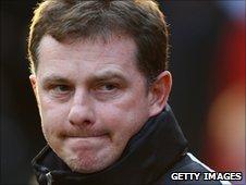 Barnsley manager Mark Robins