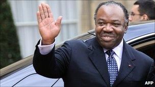 Gabon President Ali Ben Bongo