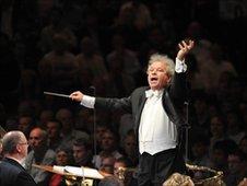 Jiri Belohl-vek, Chief Conductor of the BBC Symphony Orchestra