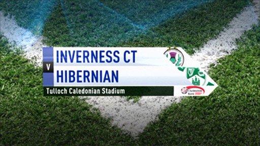 Inverness CT v Hibernian