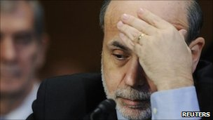 Ben Bernanke at the Senate banking committee hearing