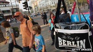 Shoppers in Berlin