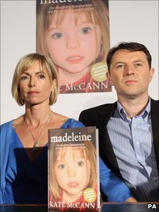 Kate and Gerry McCann launch their book about Madeleine's disappearance