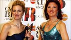 Alison Balsom (left) and Tasmin Little