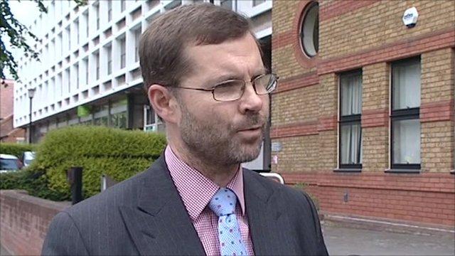 Deputy director of the Office of Rail Regulation Allan Spence