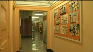 Corridor in Dream School/Public School 38