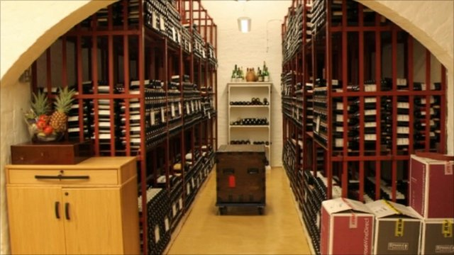 Government wine cellar