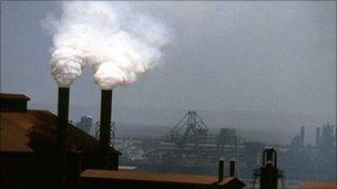 Industrial chimneys