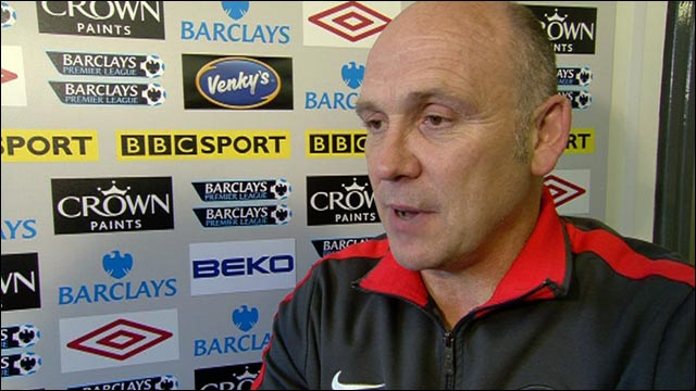 It was a clear penalty, says Man Utd's Mike Phelan