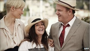 Tilda Swinton, Lynne Ramsay and John C Reilly