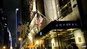 Sofitel hotel, New York (15 May 2011)