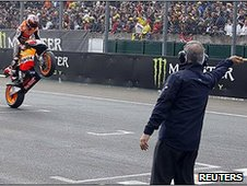Casey Stoner wins in Le Mans
