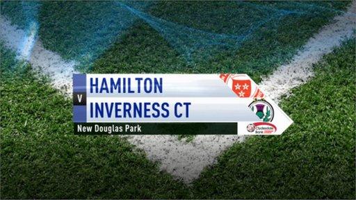 Highlights - Hamilton 1-2 Inverness CT