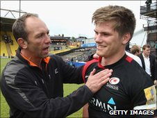 Brendan Venter and Owen Farrell