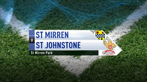 Highlights - St Mirren 0-0 St Johnstone