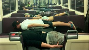 Since 'planking' is the hottest thing out right now - Wu-Tang Corp