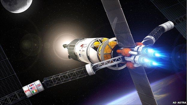 Ad Astra plasma rocket concept  (Ad Astra)